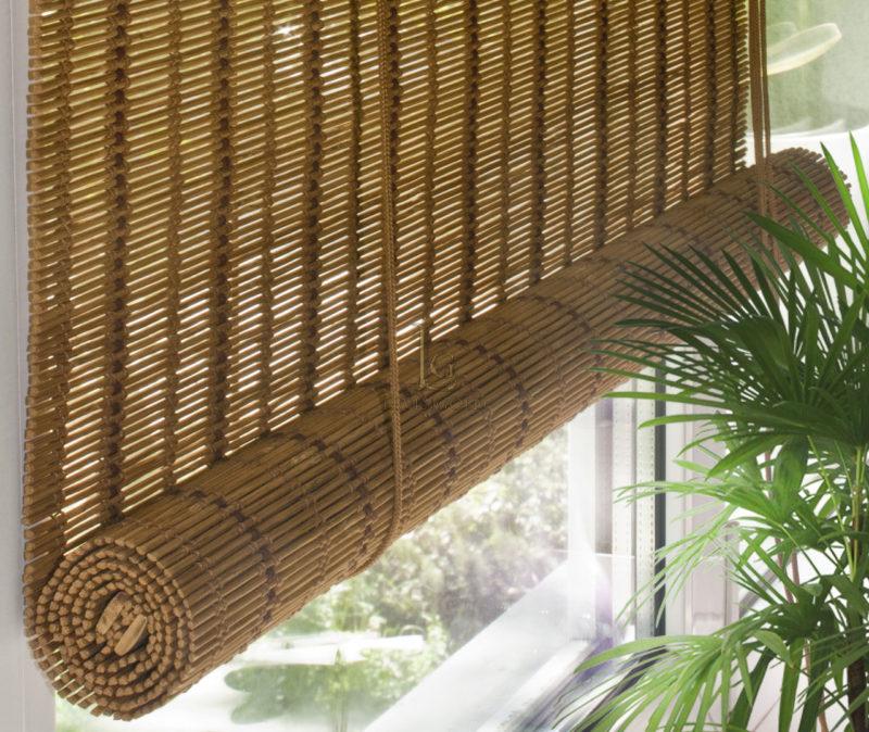 бамбуковые шторы обзор идеи
