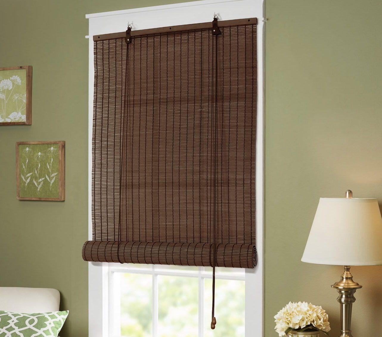 бамбуковые шторы варианты