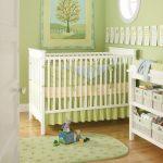 бортики для новорожденных зеленые