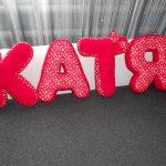 буквы подушки декор фото
