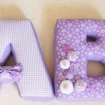 буквы подушки декор идеи