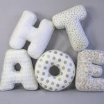 буквы подушки фото