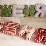 буквы подушки идеи фото