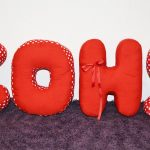 буквы подушки виды идеи