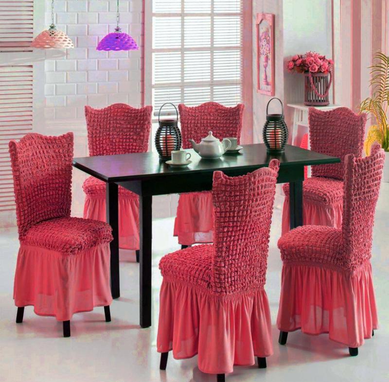 чехлы на стулья со спинкой дизайн