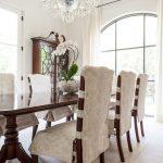 чехлы на стулья со спинками фото декора