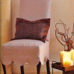 чехлы на стулья со спинками фото варианты