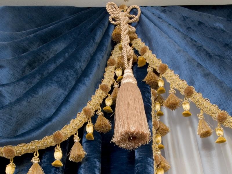 декоративные кисти для штор идеи декор