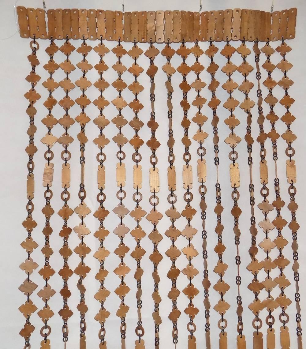 деревянные шторы дизайн фото