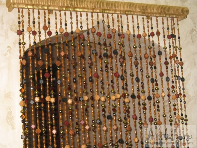 деревянные шторы фото