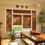 деревянные шторы идеи оформления
