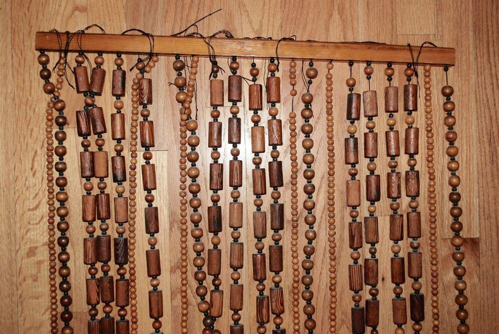 деревянные шторы оформление идеи
