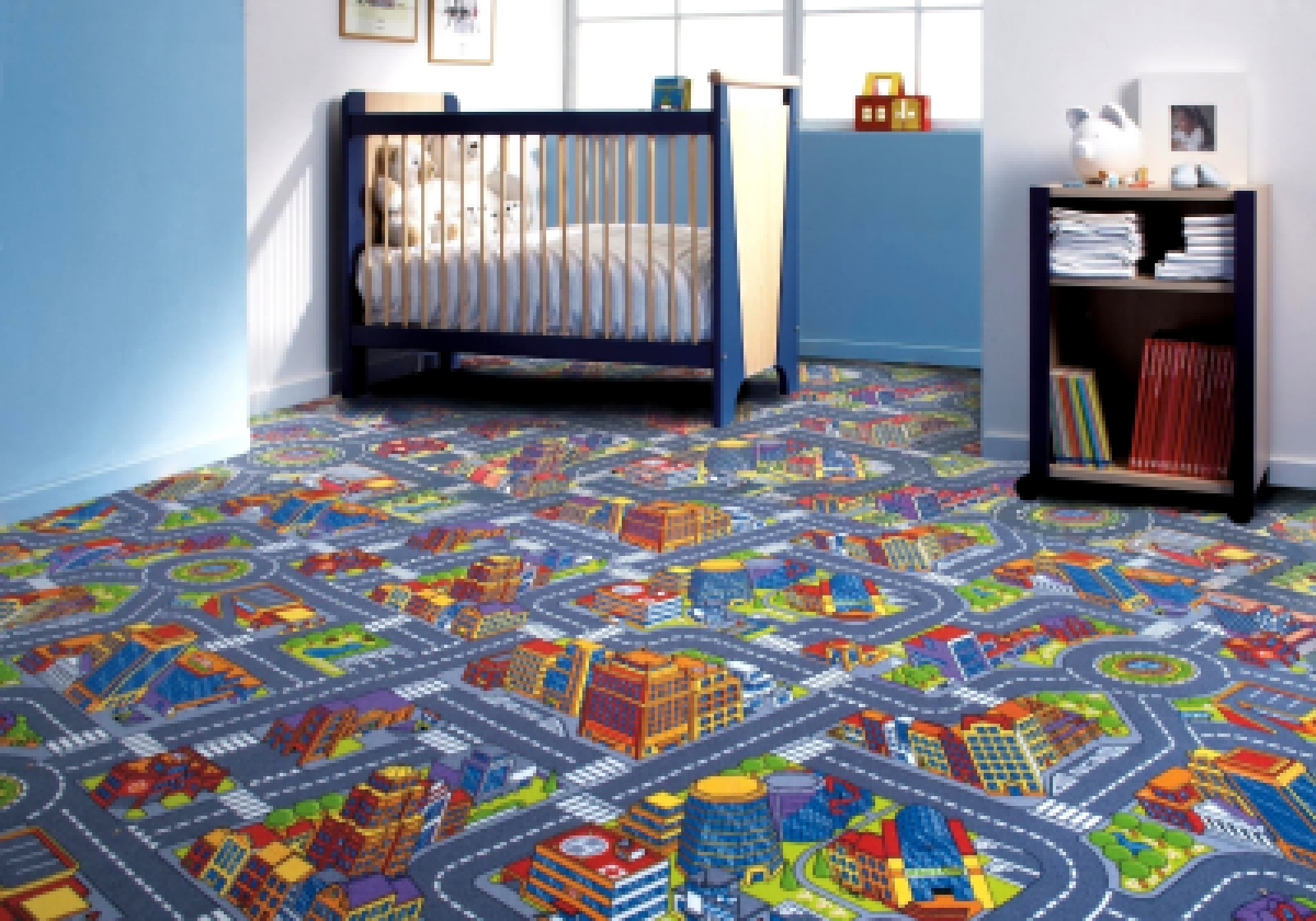 детские ковры интерьер фото