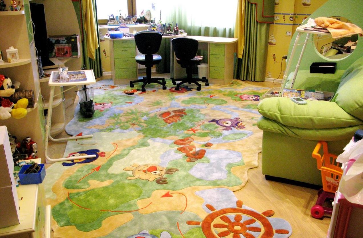 детские ковры оформление фото