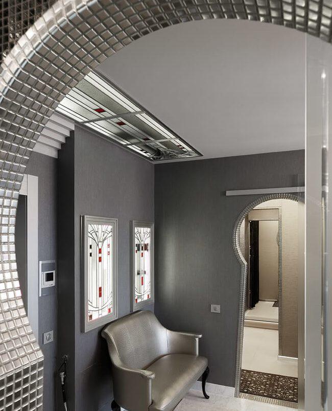 дизайн арки в квартире зеркала фото идеи