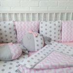 подушки бортики для новорожденных