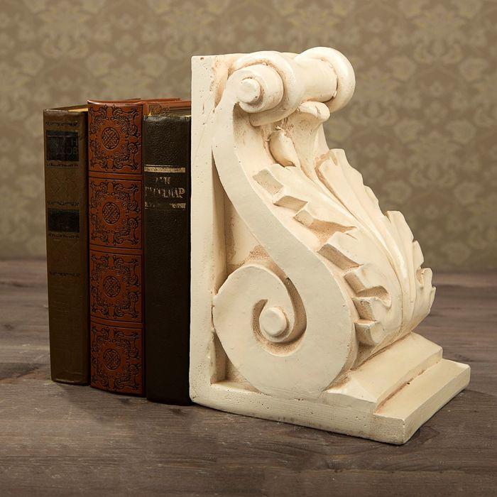 подставка держатель для книг из гипса