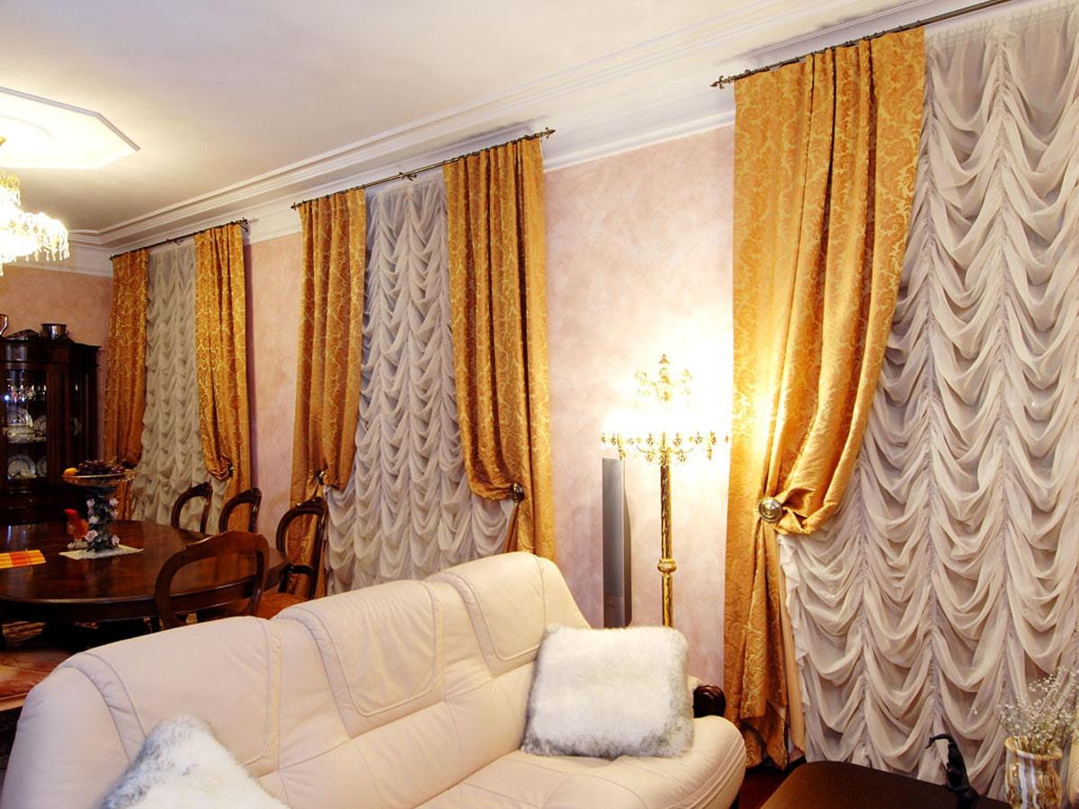 французские шторы декор фото