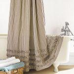 текстильные шторы для ванной фото дизайн