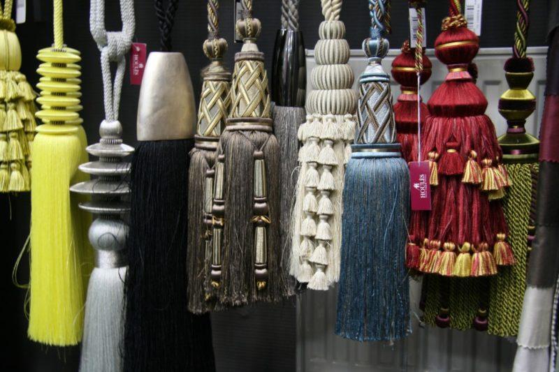 декоративные кисти для штор идеи