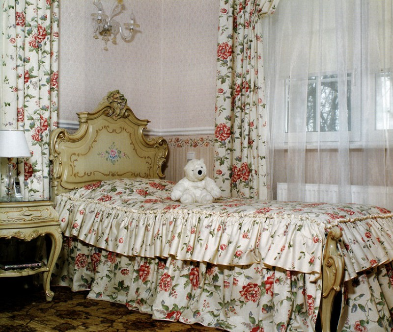 комплект из штор и покрывала для спальни варианты фото