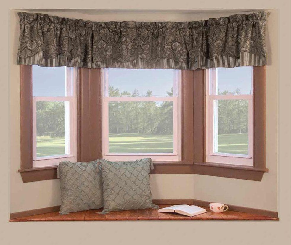 короткие шторы декор