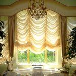 короткие шторы оформление
