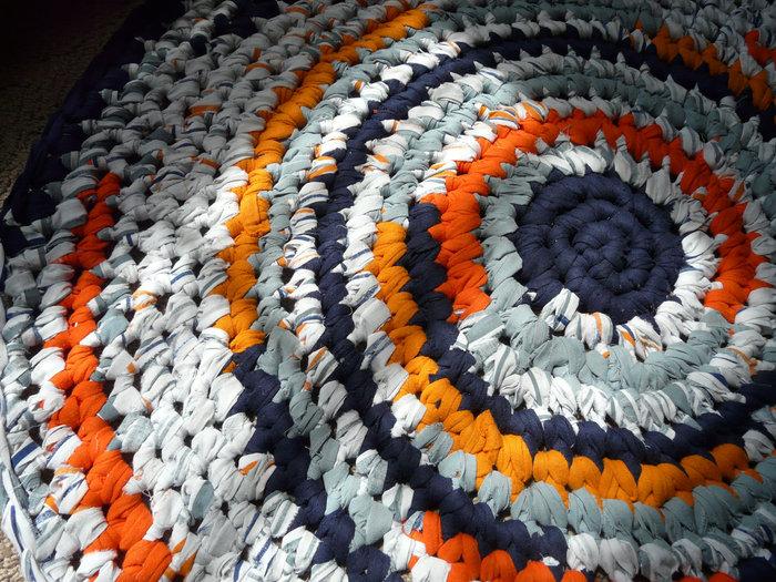 коврики из футболок идеи оформление