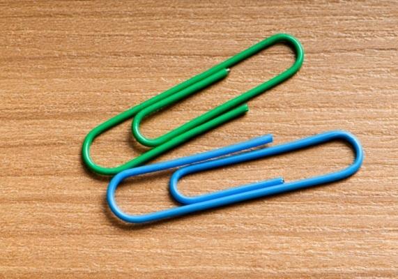 крючки для штор скрепки