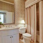 текстильные шторы для ванной фото дизайна