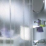текстильные шторы для ванной дизайн идеи