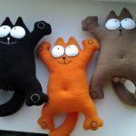 подушка кот саймона