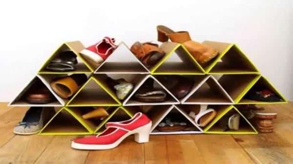 обувные полки фото идеи