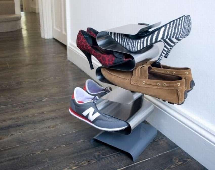 обувные полки идеи фото