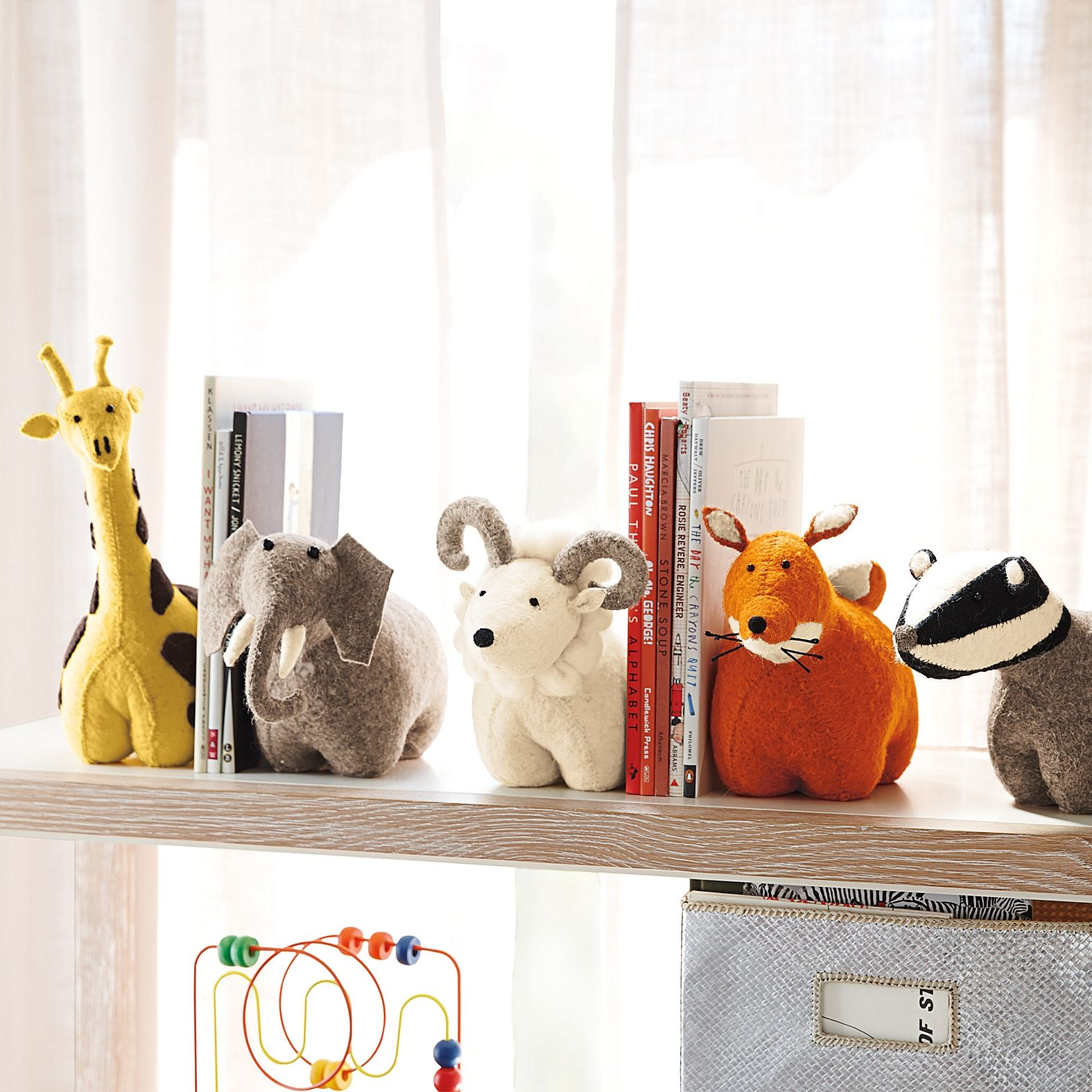 подставка держатель для книг игрушки