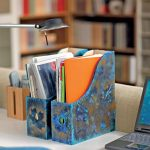 подставка держатель для книг интерьер