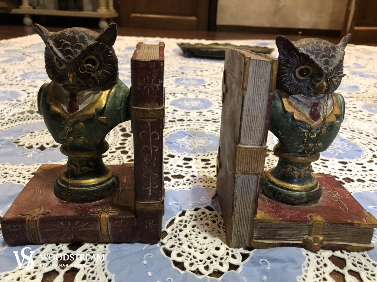 подставка держатель для книг совы