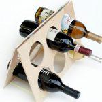 подставка для винных бутылок идеи видов