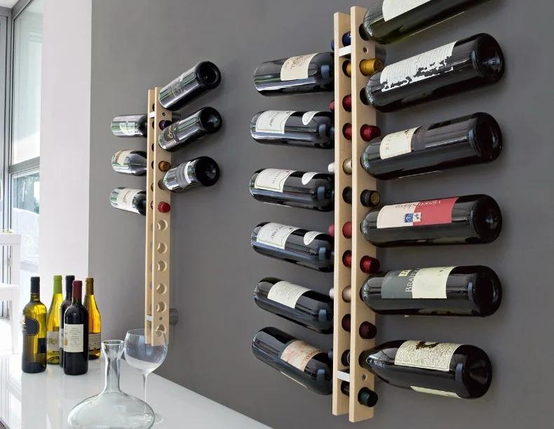 подставка для винных бутылок оформление