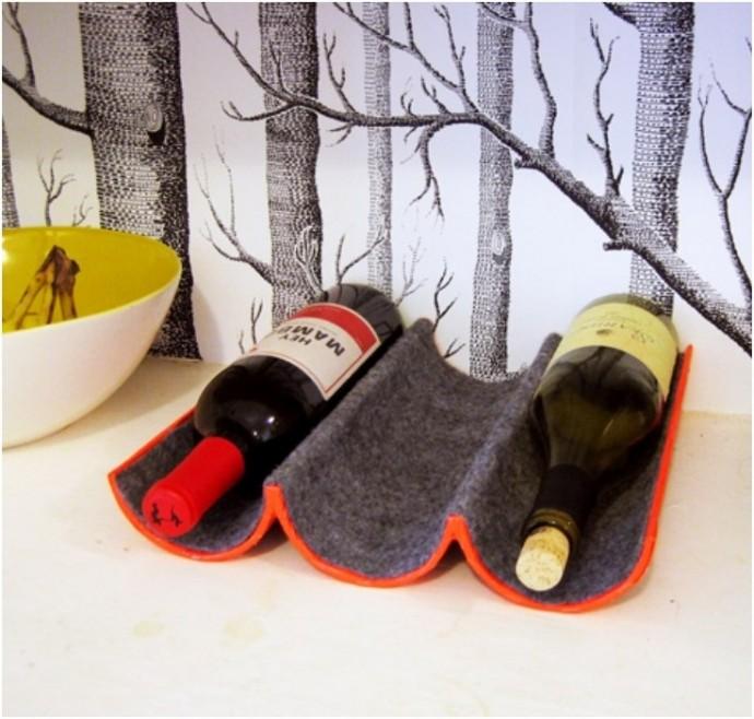 подставка для винных бутылок варианты