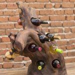 подставка для винных бутылок декор идеи
