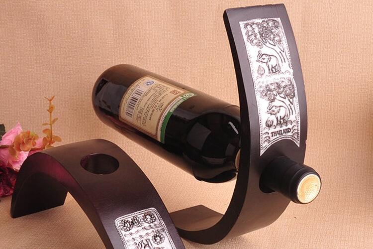 подставка для винных бутылок фото дизайна