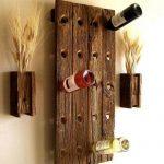 подставка для винных бутылок фото оформление