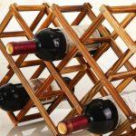 подставка для винных бутылок фото оформления