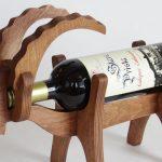 подставка для винных бутылок идеи декора
