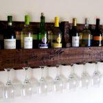 подставка для винных бутылок идеи оформления