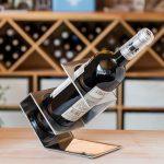 подставка для винных бутылок варианты фото