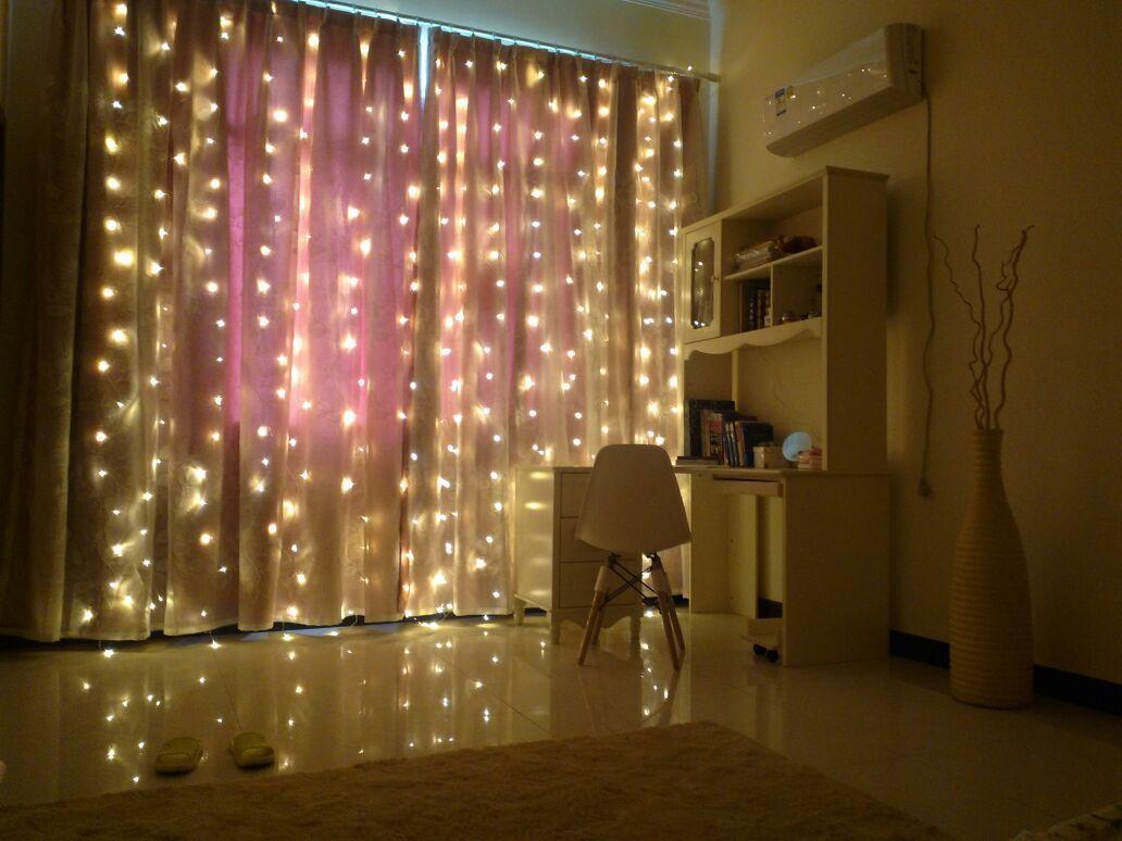 подсветка штор оформление фото