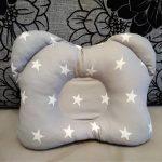 подушка для новорожденного декор