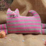 подушка кот фото варианты